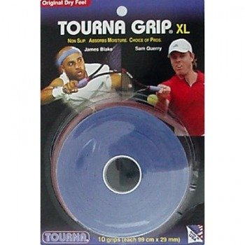 owijki tenisowe TOURNA GRIP XL(99cm x 29mm)  x10 blue